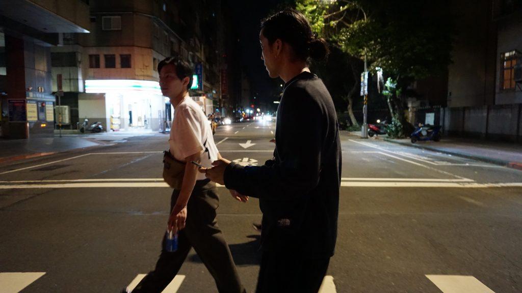 台湾は人が近い